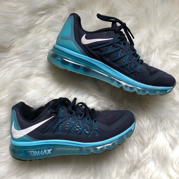 815704994650 Nike Air max 2015 Dark obsidian running shoe SZ 9.  M 5c463c9f03087cdbbd611c7a